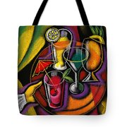 Drinks Tote Bag by Leon Zernitsky