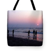 DRUM RUN CAPE POINT Tote Bag by Skip Willits