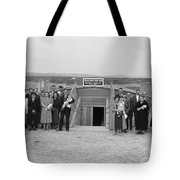 Dugout Church, 1939 Tote Bag by Granger