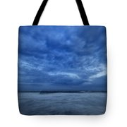 Dusk On Fire Island Tote Bag by Rick Berk