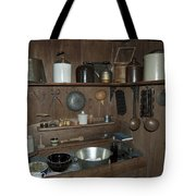 Early American Utensils Tote Bag by Michael Peychich
