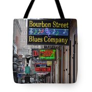 Early Morning Bourbon Street Tote Bag by Bill Cannon