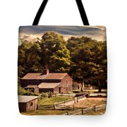 Early Settlers Tote Bag by Lourry Legarde