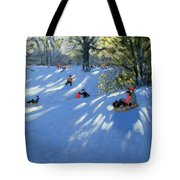Early Snow Tote Bag by Andrew Macara