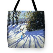Early Snow Darley Park Tote Bag by Andrew Macara