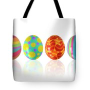 Easter Eggs Tote Bag by Carlos Caetano