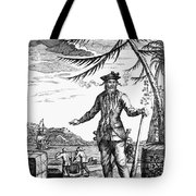 EDWARD TEACH (?-1718) Tote Bag by Granger