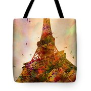 Eiffel Tower  Tote Bag by Mark Ashkenazi