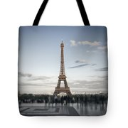 Eiffel Tower Paris Tote Bag by Melanie Viola