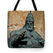 El Papa Luna ... Tote Bag by Juergen Weiss