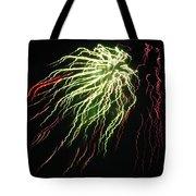 Electric Jellyfish Tote Bag by Rhonda Barrett