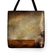 Electrician - Advancements In Lighting  Tote Bag by Mike Savad