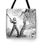 Emancipation Cartoon, 1862 Tote Bag by Granger