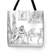 Emancipation Cartoon Tote Bag by Granger