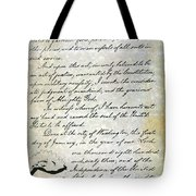 Emancipation Proc., P. 4 Tote Bag by Granger