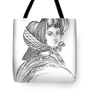 Emily Bront� (1818-1848) Tote Bag by Granger