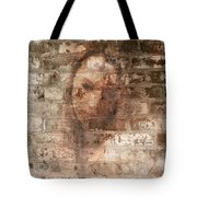 Emotions- Self Portrait Tote Bag by Janie Johnson
