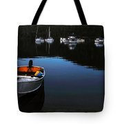 End Of A Beautiful Day Tote Bag by Kaye Menner