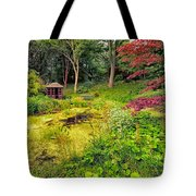 English Garden  Tote Bag by Adrian Evans