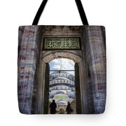 Enter Tote Bag by Joan Carroll