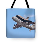 Enterprise Space Shuttle  Tote Bag by Susan Candelario