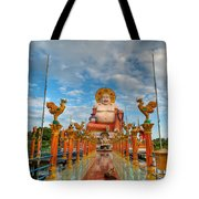Entrance To Buddha Tote Bag by Adrian Evans