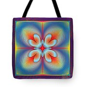 Ephemeral 1 Tote Bag by Walter Oliver Neal