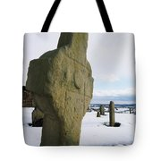 Errigal Keerouge Cross, St Kierans Tote Bag by The Irish Image Collection