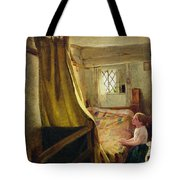 Evening Prayer  Tote Bag by John Bagnold Burgess