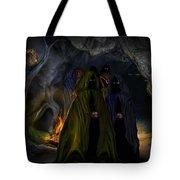 Evil Speaking Tote Bag by Alessandro Della Pietra