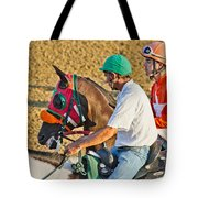 Eye on the Athlete  Tote Bag by Betsy C  Knapp