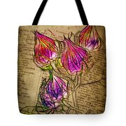 Faerie Caps Tote Bag by Judi Bagwell
