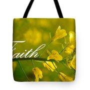 Faith Tote Bag by Lj Lambert