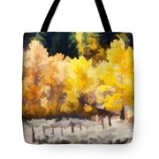 Fall In The Sierra Tote Bag by Carol Leigh