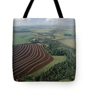 Farming Region With Forest Remnants Tote Bag by Claus Meyer