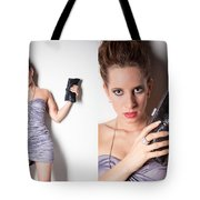 Fashion Collage Tote Bag by Ralf Kaiser