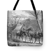 Federal Camp Contraband, 19th Century Tote Bag by Photo Researchers