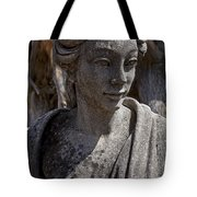 Female Statue Tote Bag by Garry Gay