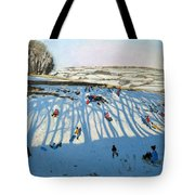 Fields of Shadows Tote Bag by Andrew Macara