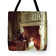 Figures In An Interior  Tote Bag by Ary Johannes Lamme