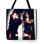 Film Noir Fetish Tote Bag by Lon Casler Bixby
