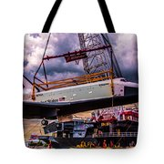 Final Flight Of The Ss Enterprise Tote Bag by Chris Lord