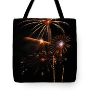 Fireworks 1580 Tote Bag by Michael Peychich