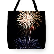Fireworks  Abound Tote Bag by Bill Pevlor