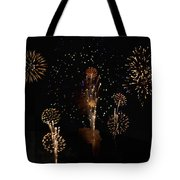 Fireworks Tote Bag by Bill Cannon