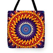 Fireworks Tote Bag by Cheryl Young