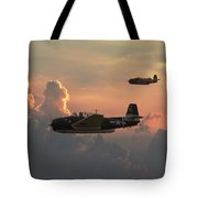 First Light Strike Tote Bag by Pat Speirs