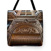 Fisher Building Chicago Tote Bag by Steve Gadomski