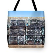 Fishing Baskets Tote Bag by Tom Gowanlock
