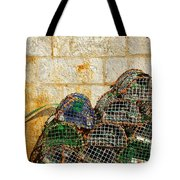 fishing traps Tote Bag by Carlos Caetano